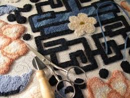 How To Make A Wool Rug With A Hook Jeanne Sullivan Design Rug Hooking How To Tutorial Primitive