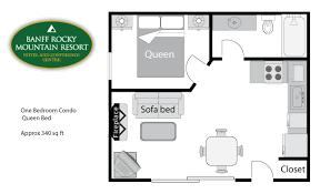 one bedroom condo floor plan 1bdrm condo png