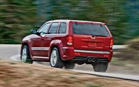 2003 jeep grand srt8 2007 jeep grand srt8 road test suv review truck trend