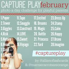 Challenge On Captureplay Photo Challenge For Playful Parents February No