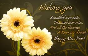free new year wishes new year wishes with flowers new year flower graphics wishes