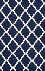 Navy Area Rug 4158 Navy Blue Moroccan Lattice Area Rugs Moroccan Navy Blue
