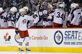 blue jackets win 14th straight on to historic game vs wild