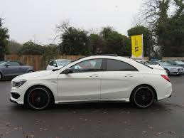 used mercedes cla used 2014 mercedes benz cla class cla45 amg 4matic pan roof