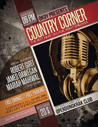 template flyer country free 31 music flyer templates free psd eps ai indesign word pdf