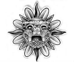 aztec tattoo design idea design pretty things pinterest