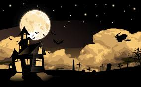 halloween house witch bats 6953536 clip art library