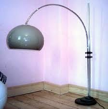 Overhanging Floor Lamp Sixties Seventies Lamps Galerie Floor Plastic