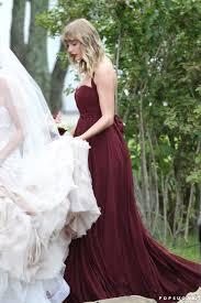 maroon dresses for wedding s maroon bridesmaid dress popsugar fashion