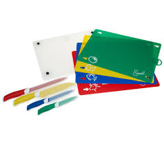colored kitchen knives emeril 9 piece cutlery and cutting board set page 1 u2014 qvc com