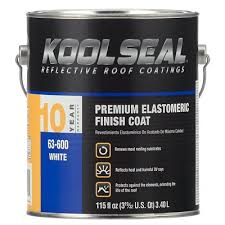 kool seal white premium elastomeric roof coating 0 9 gal model