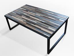 Zara Side Table Custom Metal And Wood Furniture At San Diego Rustic Coffee Table