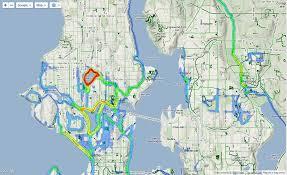 Seattle Google Map by Running Heatmap Of Seattle Seattle
