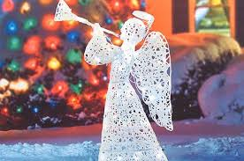 lighted angel christmas decoration lighted outdoor angel christmas decoration christmas prep