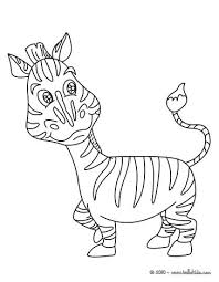 zebra coloring pages hellokids