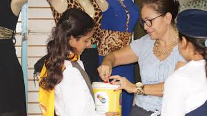 in nicaragua adventist youth collect funds to help children with