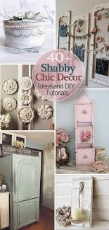 shabby chic home decor ideas 40 shabby chic decor ideas and diy tutorials 2017