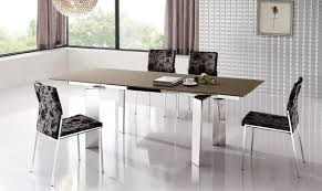 Dining Tables Modern Design Extendable Dinner Table And Chairs Modern Design Contemporary