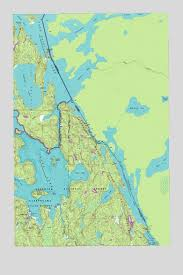 minnesota topographic map crane lake mn topographic map topoquest