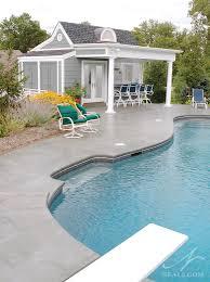 nantucket inspired pool house mt washington oh