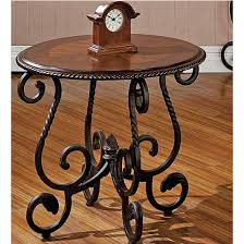 steve silver crowley end table steve silver crowley end table cherry finish kitchensource com