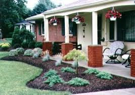 landscaping ideas ranch house ranch style homes front yard