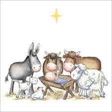 cute nativity and religious christmas cards with charity donations