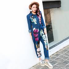 Jeans Jumpsuit For Womens Compare Prices On Long Jeans Jumpsuit Online Shopping Buy Low