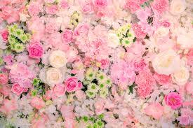 wedding flowers background beautiful flowers background for wedding stock image