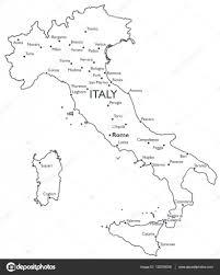 Foggia Italy Map Vector Map Of Italy U2014 Stock Vector Lynx V 132330058