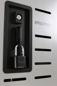 Secure Laptop To Desk by Ergotron Dm40 1008 Zip40 Charge Cart For Chromebook Laptop Tablet