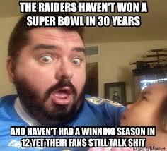 Raiders Suck Memes - raiders suck sports meme pinterest