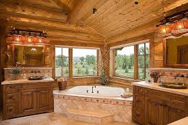 log home bathroom ideas ingenious design ideas 9 log home master bathroom homes bath and