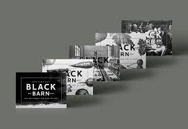 black barn restaurant branding u2013 mark zeff design