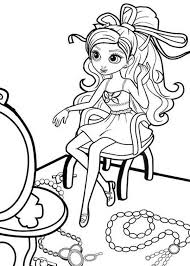 draw barbie thumbelina coloring pages place color