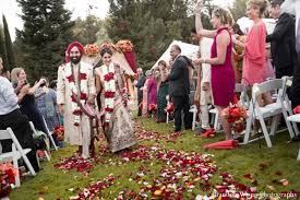 indian wedding flower garland bright indian wedding by brandon wong photography sacramento