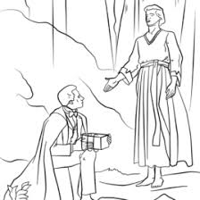 coloring page angel visits joseph angel moroni visits joseph smith coloring page free printable angel
