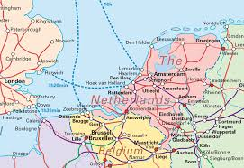 belgium and netherlands map from netherlands to belgium map