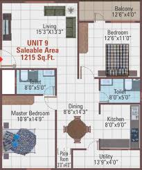 temple floor plan 1215 sq ft 2 bhk 2t apartment for sale in 5 elements realty temple