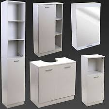 Bathroom Basin Cabinet Sink Basin Storage EBay - Bathroom basin with cabinet