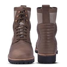 s leather boots shopping india buy zanskar pull up leather boots khaki royal enfield