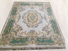 Wool Indian Rugs Large Hand Knotted Pure Wool Indian Rug In Halifax West