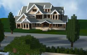 Modern Traditional House Traditional Mansion By Jar9 Minecraft Houses Pinterest