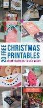 20 fabulously free christmas printables for a stress free holiday