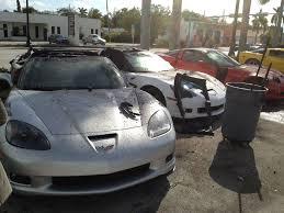 corvette crash chevrolet corvette crash dealership miami 3 images photo