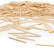 natural wooden matchsticks 35 g hobbycraft