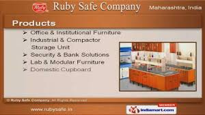 Modular Storage Furnitures India Office Furniture By Ruby Safe Company Mumbai Youtube