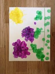 Flowers For Crafts - spring flowers arts and crafts activity for toddlers and