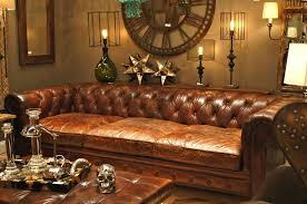 Leather Sofas Chesterfield by Savvy Leather Sofas Regina Andrews Reinvents The Classic