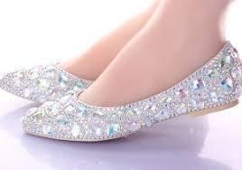 cheap silver wedding shoes popular silver flat bridal shoes buy cheap silver flat bridal flat